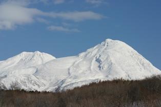 羅臼岳全景