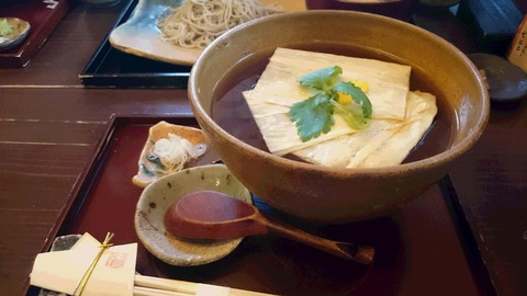 DSC_0350生湯葉蕎麦