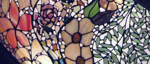 白龍館のステンドグラス
