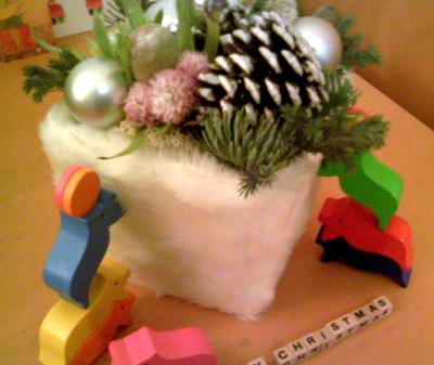 クリスマス ブーケ