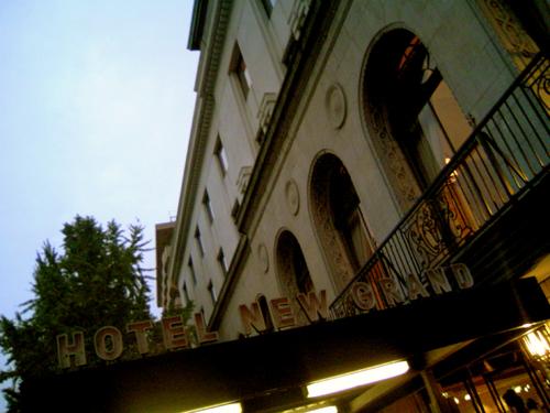 思い出のホテル