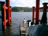 箱根は涼しかったなあ