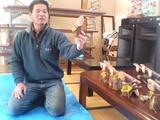 堀田さんのバードカービング教室