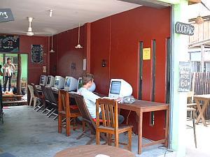 マックのネットカフェ