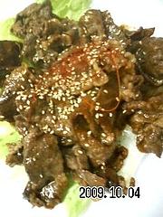 091004_和牛の焼肉でーす
