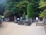 阿夫利神社 拝殿左側
