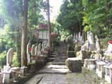 宝山寺 奥之院への参道