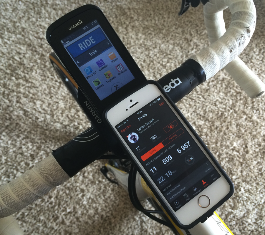 Iphone bicycle