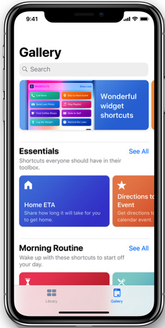 Ios12 shortcuts app