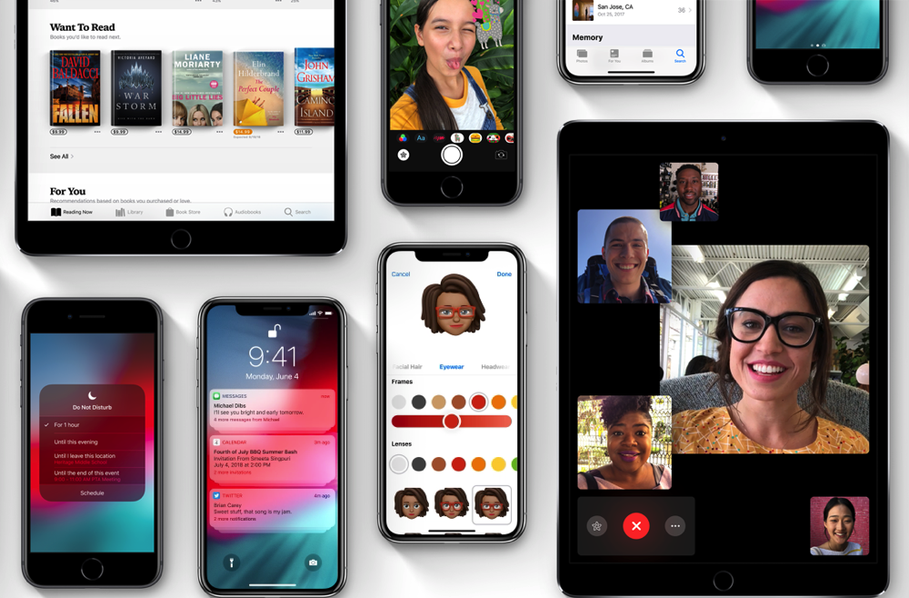 Ios12 features