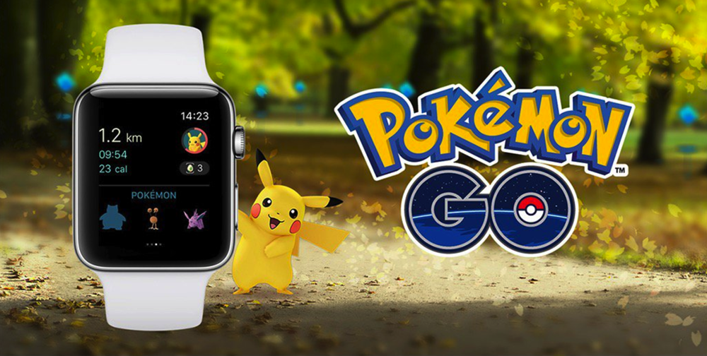 Applewatch pokemongo setup titile