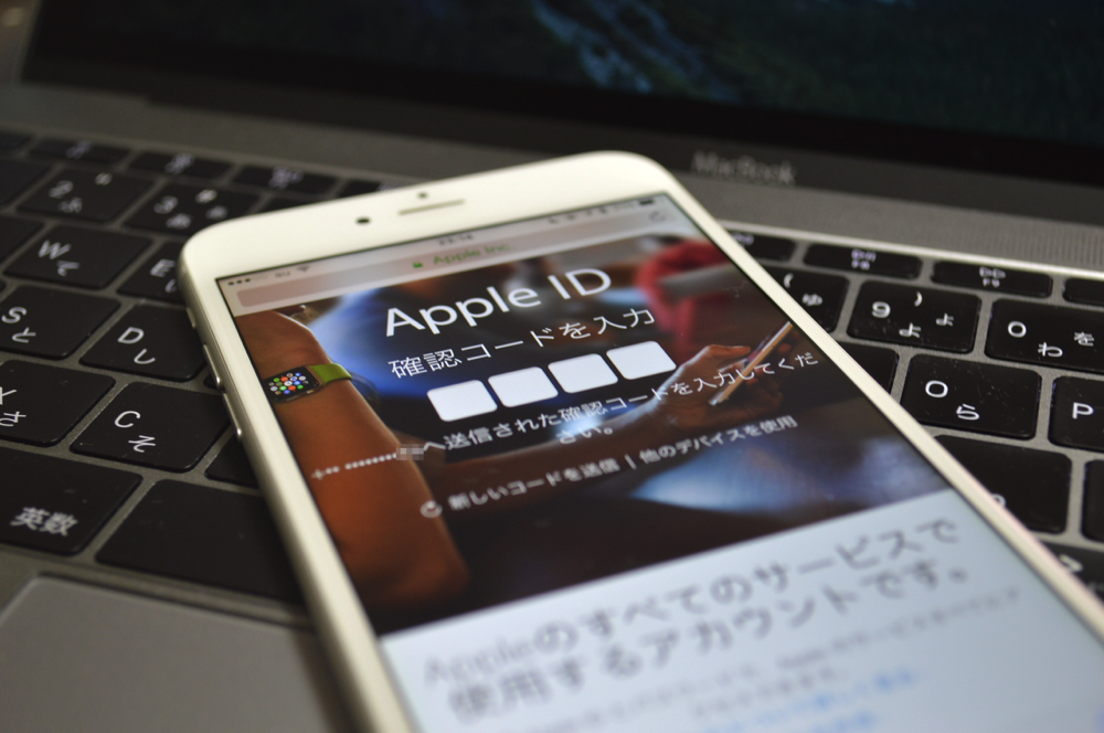 Appleid 2step title