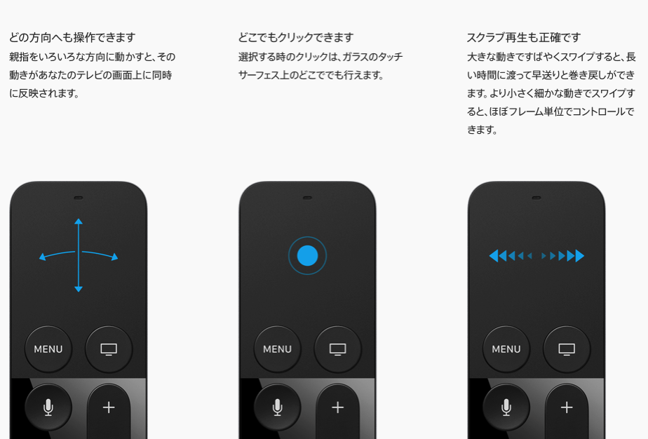 New apple tv siri remote