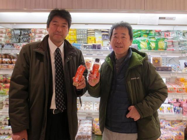 川口納豆の門傳社長とツーショット