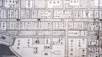 福島市荒町の古地図