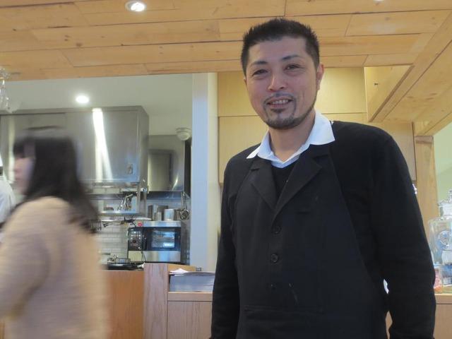 ケヤキカフェの社長さん