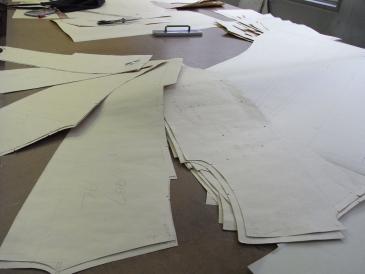 スーツ 型紙