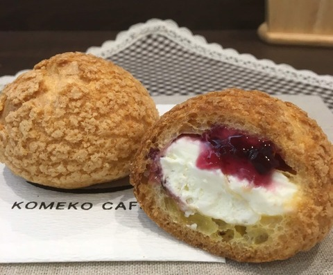 黒田屋菓子舗 レアチーズクッキーシュー2