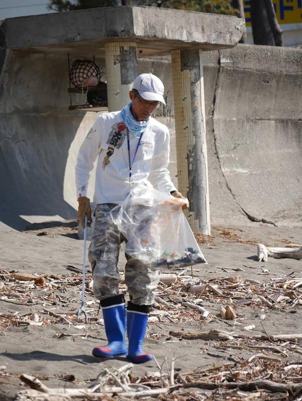 台風通過が多い年ながら、目立つゴミは意外と少なめ。