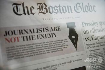 トランプ大統領のメデイア攻撃に米300紙が報道の自由を求める共同記事を掲載