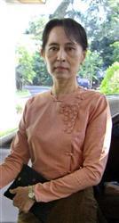 スー・チーさんの解放を要求 国連人権理決議