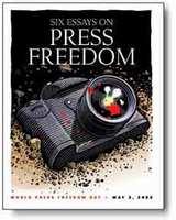 言論の自由は世界的に後退する傾向、ジャーナリスト権利保護団体