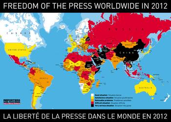報道の自由がない中国の現状