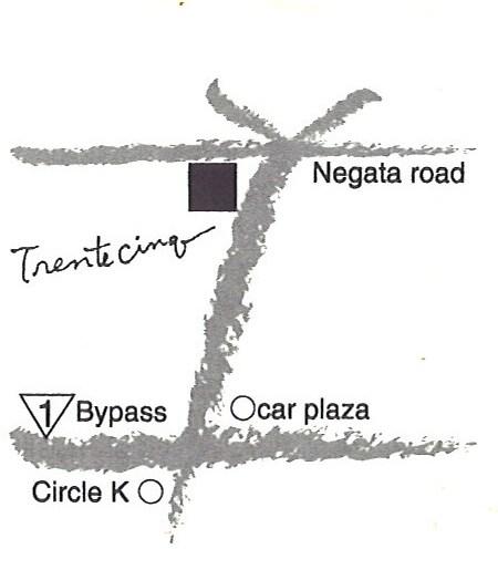 トレントサンク 地図