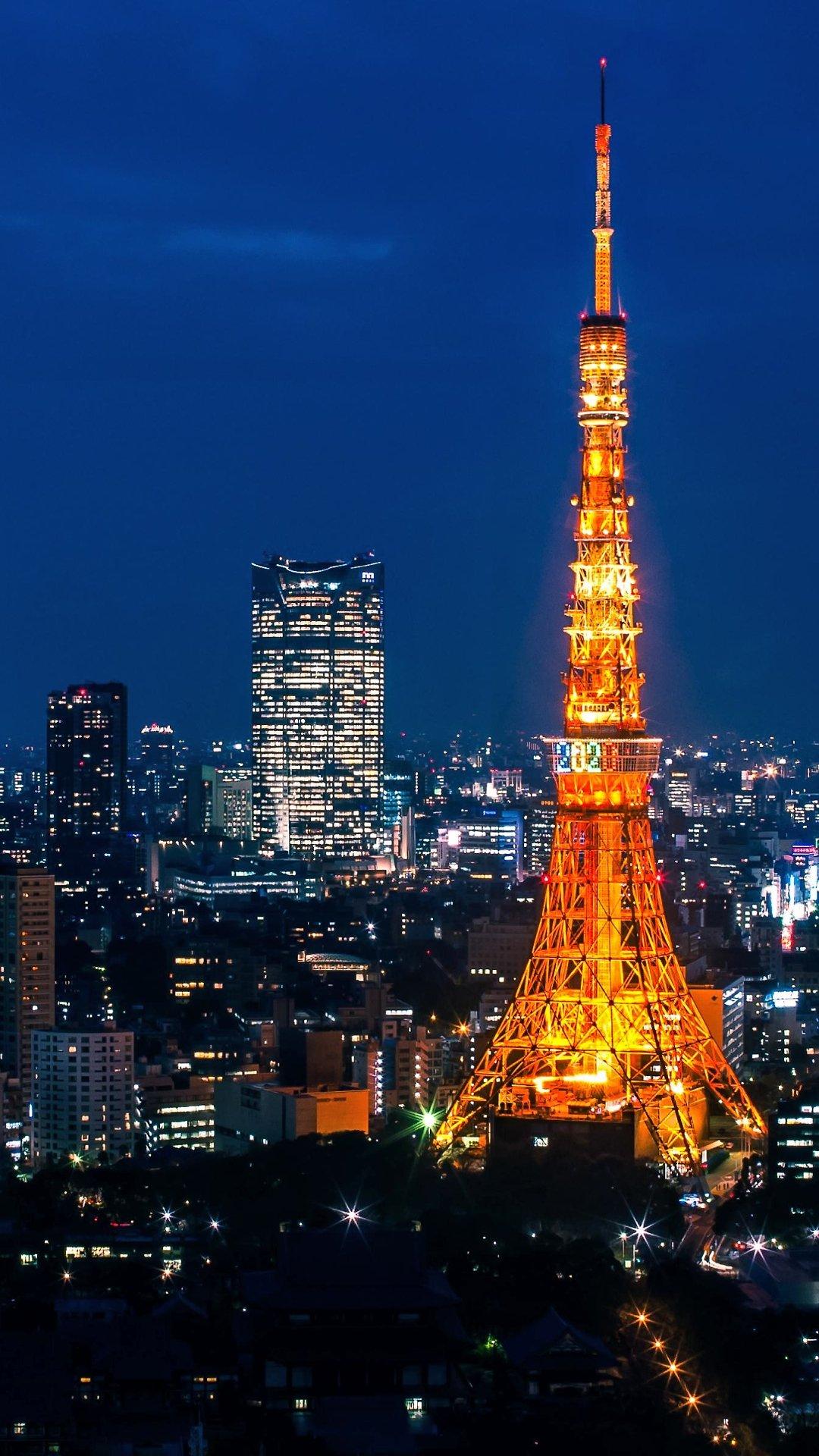東京タワー 15枚 スマホ壁紙 待受 1920 1080 縦長フルhd Android