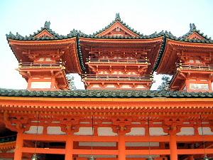 国内観光資源 インバウンド 平安神宮