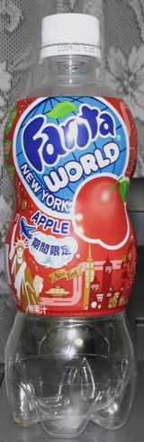 今日の飲み物 fantaworld newyork apple 期間限定