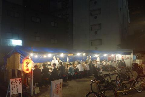 たまに行くならこんな店 高知市内は屋台がいっぱいということで、評判の良い屋台餃子店「屋台安兵衛」でボリューム感溢れるおでんとカリカリ系餃子を食べてきました