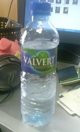 今日の水 VALVERT