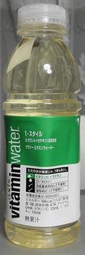 今日の飲み物 グラソー ビタミンウォーター t-スタイル(ビタミンC+カテキン)緑茶風味