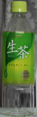 今日の飲み物 生茶