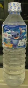 今日の水 ブルボン天然水(ディズニースティッチパッケージ版)