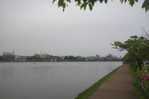 2016年5月3日から8日まで水戸市を代表する「千波湖公園」で、県内外の有名なラーメンが手軽に楽しめる「水戸のらーめんまつりII」に行ってきました