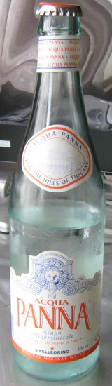 今日の水 パンナ