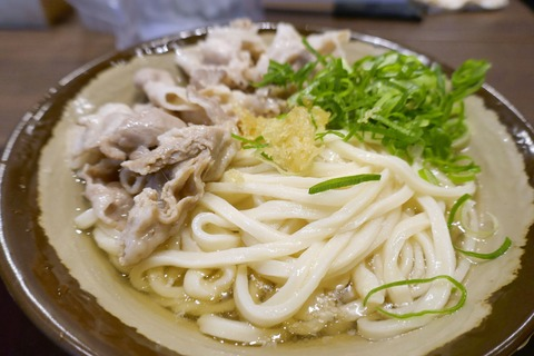 たまに行くならこんな店 多分一福系で麺が一番美味しいと感じた「香川一福 立川店」が立川にオープン!立川店限定の「米澤豚肉うどん」を食す!