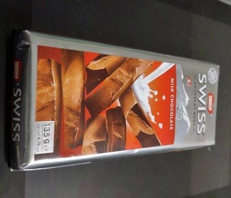 たまに買うならこんな商品 名前そのままじゃん?「Nestle SWISS CHOCOLATS BRUT」