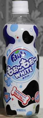 今日の飲み物 ファンタ もぉ~もぉ~ ホワイト
