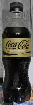 今日の飲み物 コカ・コーラ シュガーゼロフリーカフェイン