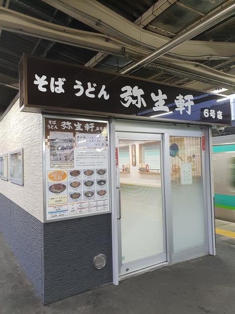 たまに行くならこんな店 昭和の画伯「山下清」も働いていた駅そばの盟主「弥生軒」で、ボリューム満点な唐揚げそばを喰らう!