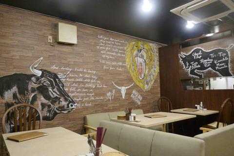 たまに行くならこんな店 池袋駅トオ系な「肉バル KACCHAN」でお酒とともに牛ウメェ料理の数々を食す!