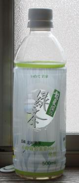 今日の飲み物 竜泉洞の緑茶