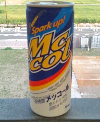 今日の飲み物 韓流ブームの前から日本でもカルト的な人気のある珍炭酸飲料「メッコール」は激不味いと言われていた割に意外と飲める味でした