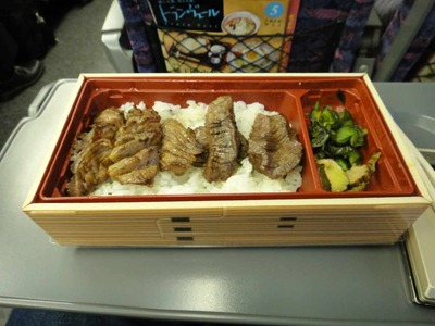 今日のお持ち帰り kichans仙台駅店の牛タン弁当