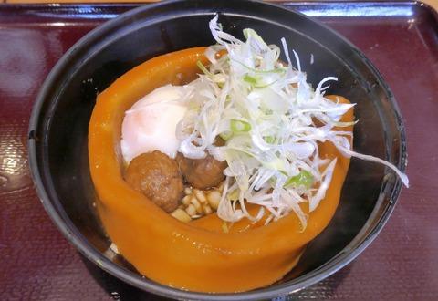 たまに行くならこんな店 上り側の羽生SAにある「鬼平江戸処」で一本極太麺が楽しめる「五鉄」で、「つくね一本うどん」を食す!