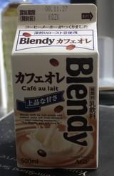 今日の飲み物 blendyカフェオレ