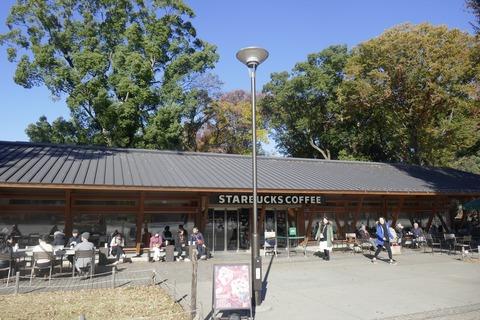 たまに行くならこんな店 上野恩賜公園ド真ん中な「スターバックスコーヒー 上野恩賜公園店」で、甘く香りたかき「抹茶ホワイトマーブルフラペチーノ」を飲み干す!